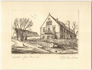 Graf Luckner wuchs hier ab 1881 auf.