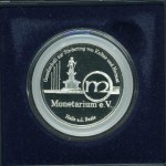 Rear side / Rückseite, Logo des Monetarium e.V.