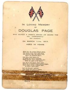 Gedenken an Douglas Page