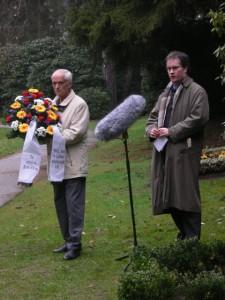 40. Todestag von Graf Luckner, Hamburg Ohlsdorf