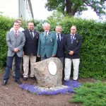 Einweihung des Luckner Steines in Pennrich 2006