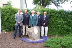 Unveiling a von Luckner stone / Einweihung des Luckner Steines in Pennrich, 2006
