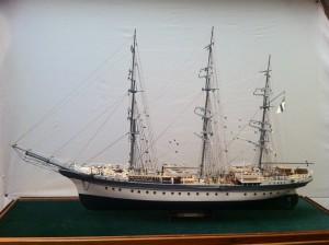 Model / Schiffsmodell SMS Seeadler