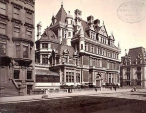 Vanderbilt's home, 5th Ave., Manhattan, New York City