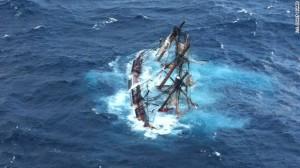 Sinking Bounty - October 29, 2012