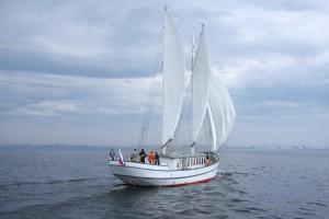Wohin geht die Fahrt von Luckners Yacht