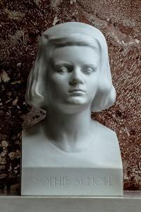 Büste von Sophie Scholl in der Walhalla (Quelle: Wikipedia)
